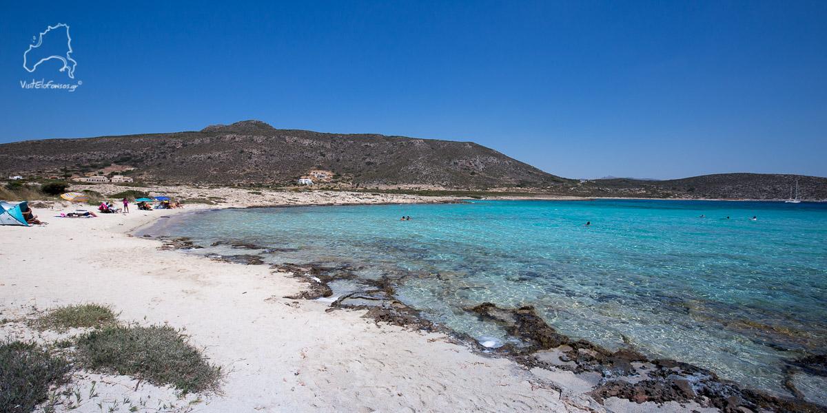 Παραλία Λεύκη Ελαφόνησος