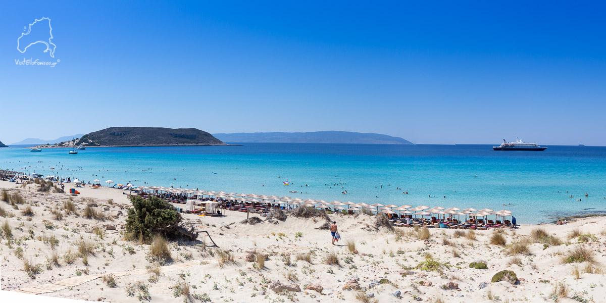 Μεγάλη Παραλία Σαρακήνικο Ελαφόνησος παραλίες - Megali Paralia Sarakiniko Elafonisos beaches
